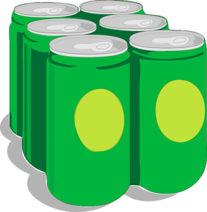 6本のジュース