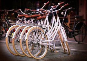 4台の自転車