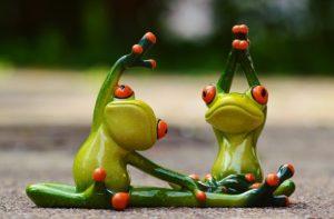 カエルの体操