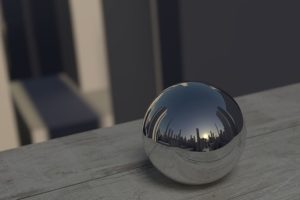 鏡のボール