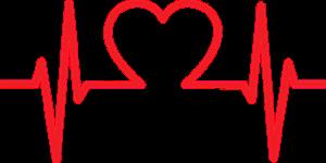 ハートの心電図