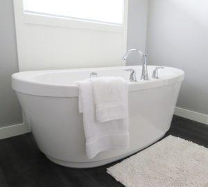 白いお風呂