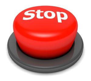 ストップのボタン