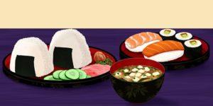 ごはんとお寿司