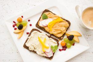 朝食で甘いものを食べる