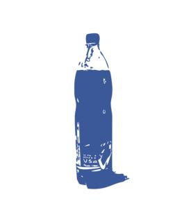 絵のペットボトル