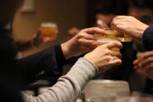飲み会での乾杯