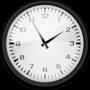 アナログの時計