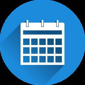 カレンダーの絵