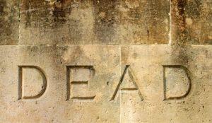 deadの文字