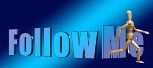 follow meの文字