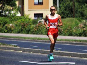マラソンの選手