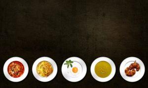 食事のプレート