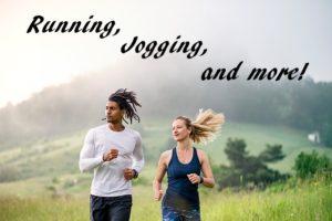 2人のジョギング