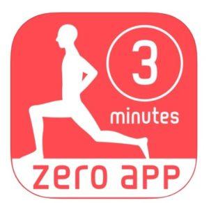3分フィットネスのアプリ