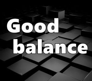good-balanceの文字