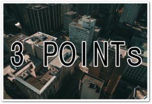 3pointsの文字