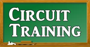 サーキットトレーニングの文字