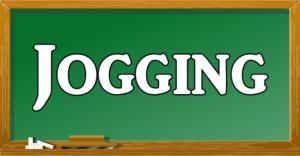 joggingという文字