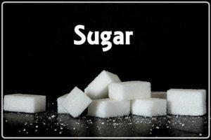 砂糖とsugarの文字