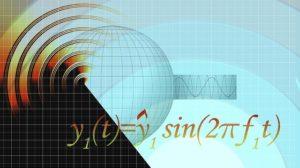 数式が書いた写真