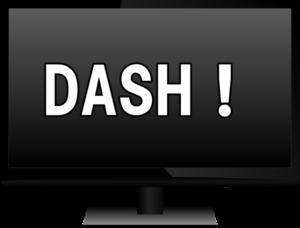 DASHの文字