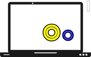 2つの比較 パソコン画面 その2