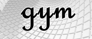 gymの文字