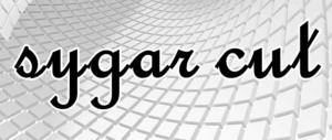 sugar cutの文字