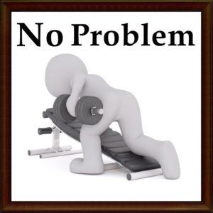 NoProblemの文字