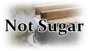 Not Sugarの文字