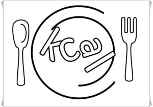 kcalが切れた皿