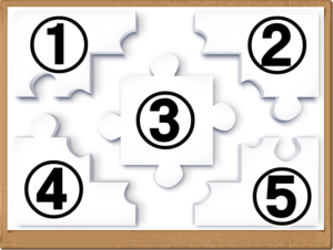 5つのパズル