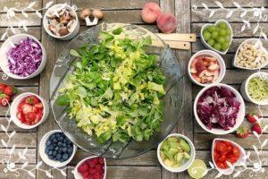 サラダの盛り合わせ