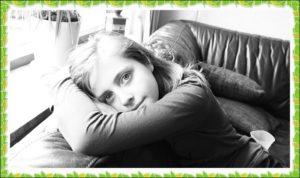 少女の写真