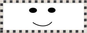 笑顔のマーク