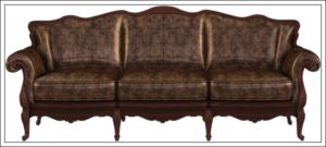 長いソファー