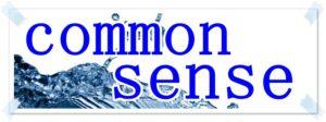 common senseの文字