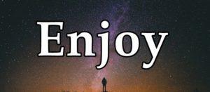 Enjoyの文字