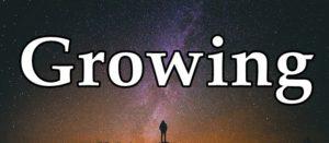 Growingの文字