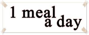 英語で「1日1食」