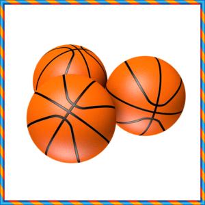 3つのバスケットボール