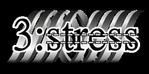 3:stressの文字
