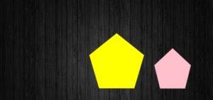 下2つの五角形
