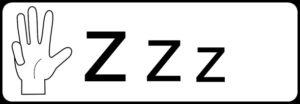 4:Zzzの文字