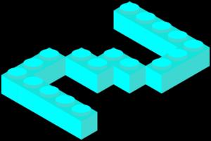 ブロックの2