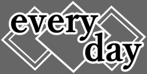 every dayの文字