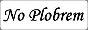 No Plobremの文字