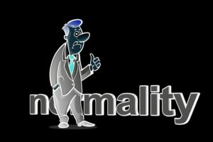 nomalityと男の絵