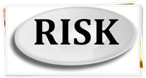 RISKをのせた皿